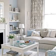Blue Grey Create a Summer Feel. Small Living RoomsLiving ...