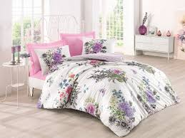 stella pink ranforce single quilt cover set es 129ctq12473 white lilac green black pink