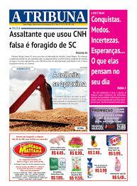 Jornal a tribuna 8 de mar o de 2017 by Jornal A Tribuna Santo.