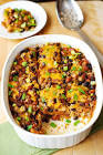 black bean and beef casserole