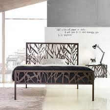Slimline Bedroom Furniture Wrought Iron Hand Made Modern Bedroom Furniture My Italian Living Ltd