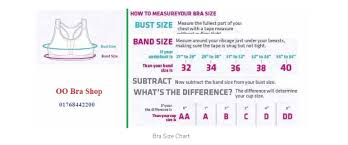 Bra Size Chart In Pakistan Bra Size Calculator A Perfect Measurement Guide For Women