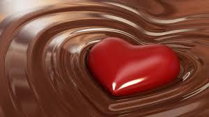 i love chocolate wallpaper. Plain Wallpaper Red Heart Chocolate HD Wallpaper To I Love C