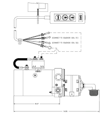 dock leveler wiring diagram dc 60sfc 12v dc solenoid operated power up power down stone dc60sfc side view and control