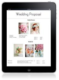 Free Wedding/event Proposal Manager | Floranext - Florist Websites ...