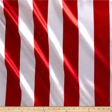 red and white stripes. Plain And Charmeuse Satin 35 Stripe WhiteRed  Discount Designer Fabric Fabriccom And Red White Stripes