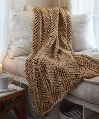Afghan Knitting Patterns Interesting Gorgeous Knit Throws Red Heart