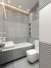 Home Designs: Small Modern Bathroom - Space Efficient Design