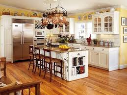 Image Portsidecle The Best Interior Yellows The Food Making Room Pinterest Yellow Kitchen Walls Lamaisongourmetnet White Cabinets Yellow Walls And Open Cabinets Especially Love The