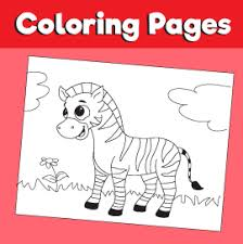 Coloring page with various animals. Zebra Coloring Page Animal Coloring Pages 10 Minutes Of Quality Time