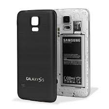 samsung phone back. replacement aluminium metal samsung galaxy s5 back cover - black phone v