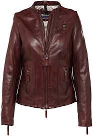 blauer usa 1459 las leather jacket women jackets fashion brown blauer jackets