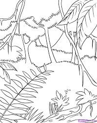 Jungle Coloring Pages (17) - Coloring Kids