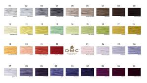 Anchor Floss Colour Chart Dmc Thread Specialist
