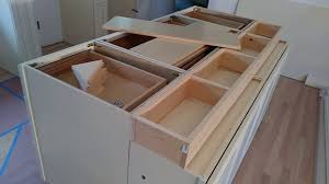 How To Build And Make A Double Sided Kitchen Island From Wall