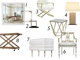 Small Picture Glamorous White and Gold Home Decor