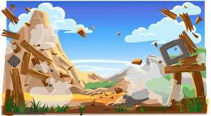 Background]Angry Birds Classic:Title Screen by nikitabirds on DeviantArt