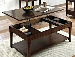 lift coffee tables stunning top wood table with casters interior design 6