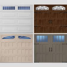 new garage door replacement steel wood custom