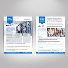 Professional Playful Sales Flyer Design For Aqueity Inc By