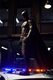 dark knight batman on police car iphone wallpaper