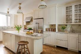 kitchen large traditional l shaped medium tone wood floor kitchen idea in boston with