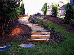 Outdoor Steps Exterior Splendid Outdoor Stairs Exterior Ideas With Black