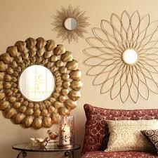 gold burst wall decor mirror decor
