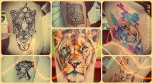 значение тату львица смысл история и фото готовых татуировок