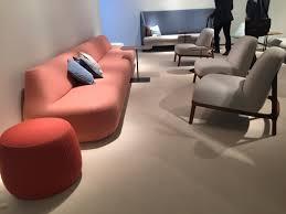 Bernhardt Design Cassino sofa, Colours Pouf, Claire Lounge Chair