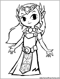 Small Picture Legend Of Zelda Link Coloring Pages GetColoringPagescom