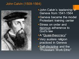 Martin Luther Vs John Calvin Venn Diagram Warm Up List The Significant Events From The Life Of The