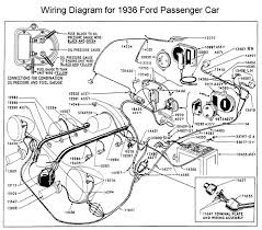 wiring diagram for 1936 ford wiring pinterest ford 55 ford wiring diagram at 1956 Ford Car Wiring Diagram