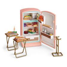 Amazoncom American Girl Maryellens Refrigerator Food Set Toys