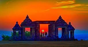 Hasil gambar untuk boko temple SUNSET