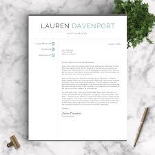 Professional Resume Template The Davenport
