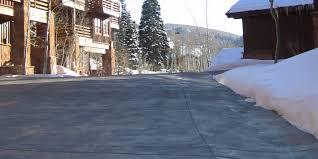 outdoor heating slide