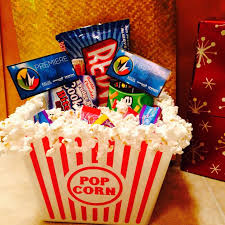 Image result for movie gift basket