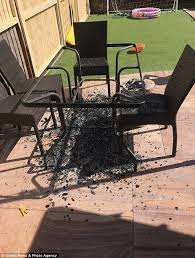 barry williams spent 130 on the patio table and chairs from asda which shattered in