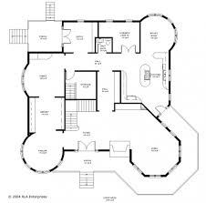 Center Hall Colonial Floor Plans  Dutch Colonial Lavish Project Floor Plan Mansion