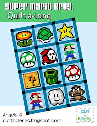 Super Mario Brothers Quilt Along – Materials List – Angela Pingel & As you can see, there are a lot of different colors in the quilt. So that  means that you need a bunch of different fabrics if you are planning on  doing the ... Adamdwight.com