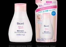 Biore|<b>Мицеллярная вода для</b> снятия макияжа