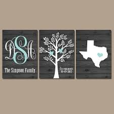 personalized family names wall art