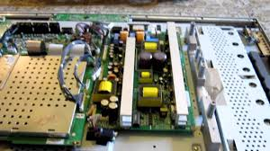 diy lg lcd flat panel tv repair blown capacitor