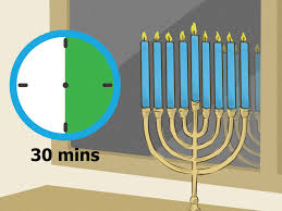 how to light a chanukah menorah