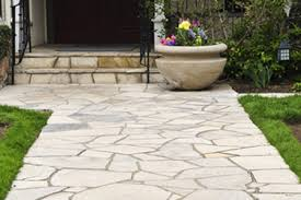 flagstone walkway decorative ...