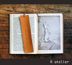 Personal Quotes Gorgeous Ratelier Leather Bookmark Joan Of Arc Quotes