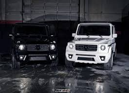MERCEDES G CLASS G WAGON G500 G550 G55 AMG FRONT VIEW BLACK AND ...