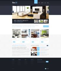 Interior Design Responsive Website Template Websites Templates Free