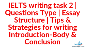 Ielts Writing Task 2 Questions Type Essay Structure